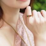 แหวนหลากสี
