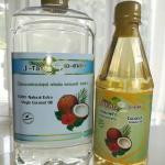 น้ำมันมะพร้าวบริสุทธิ์ สกัดเย็น ธรรมชาติ 100% เจ-เทสต์ ขนาด 1 ลิตร+ 450 มล.(ทำอาหาร)