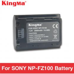 KingMa np fz100 battery NP-FZ100 battery 2000 mAh NPFZ100 for SONY