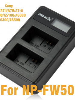 SEIWEI Dual Battery Charger for Snoy NP - FW50