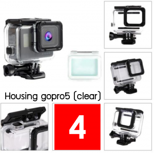 Housing gopro/6 (clear)