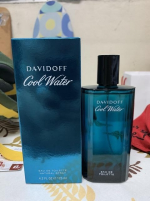 Davidoff Cool Water EDT For Men 125 ml. พร้อมกล่อง