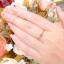 แหวนเพชรดีไซน์เม็ดเดียว thumbnail 4