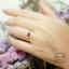 แหวนประดับทับทิมแท้, ไพลินแท้ + เพชรสวิส (cz) thumbnail 4