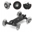 Wheels DSLR Video Camera Track Car Stabilizer Rail Rolling Slider Dolly
