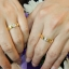 แหวนคู่เรียบหรู (เพชรแท้) thumbnail 4