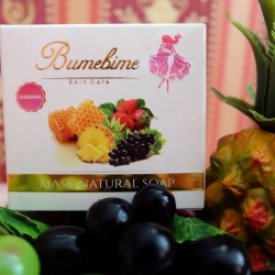 สบู่บุ๋มบิ๋ม Bumebime Mask Natural Soap 100 g. ของแท้