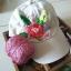 หมวกปักมือ Rose Cap