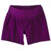 กางเกงคนท้อง Liz Lange Maternity ขาสั้น Twill Shorts สีม่วง ไซส์ XS-S