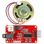 UART Serial MP3 Music Player Module with 1W Speaker for Arduino