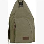 กระเป๋าสะพายใบเท่ห์ ขนาดกำลังดี สำหรับสุภาพบุรุษทั้งหลาย มีให้เลือก 5 สี 2 ขนาด - เขียว ใหญ่