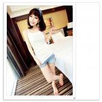 เสื้อกล้ามเกาหลี ผ้าบางเบาใส่สบาย สีขาว