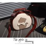 กระเป๋าหนังแฟชั่น ใบกำลังดี ดีไซน์น่ารักๆ พื้นที่ใช้สอยจุใจ น่าใช้มั่กๆ เลยคร๊าา - Red