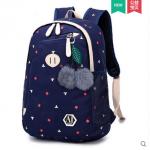 กระเป๋าเป้แฟชั่น ลายน่ารักๆ มีช่องใส่ของด้านหน้า สะดวก เหมาะกับทุกการใช้งานจริงๆ - ลาย 607