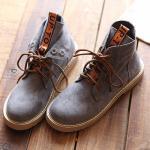 *Pre Order*Martin boots รองเท้าบู๊ทส์หนัง-แฟชั่นสไตล์เกาหลี size 35-40 สีกากี/ดำ/เทา/เขียว/น้ำตาล