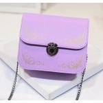 กระเป๋าสะพายข้างทรงนิยม สีสัน มีให้เลือกใช้ได้กับทุกงาน - ม่วง