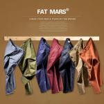 *Pre Order*Fat Mars กางเกงลำลอง-แฟชั่นผู้ชายไซส์ใหญ่ size 28-46 สีแดง/ดำ/เทา/กากี/กรม