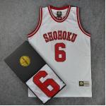 *Pre Order*SD slam dunk No.6 Shohoku Yasuda เสื้อกีฬา Basketball size M-2XL