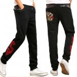 *Pre Order*Jinzhong embroidery กางเกงลำลองผ้าฝ้ายปักลายไหมญี่ปุ่น size M-2XL