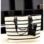 กระเป๋าแฟชั่นเกาหลี หนังนุ่ม สีสวย มีให้เลือกหลากสี ตามไสตล์คุณ - ดำ