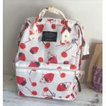 *Pre Order* กระเป๋าเป้ผ้าใบ/เป้แฟชั่นญี่ปุ่น ขนาด 14 นิ้ว/ 40x30x15 cm.