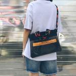 *Pre Order* กระเป๋าสะพายแฟชั่น,กระเป๋านักเรียนสไตล์ญี่ปุ่น ขนาด 13 นิ้ว = 34x26x1 cm.