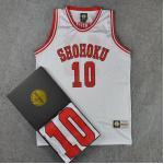 *Pre Order*SD slam dunk No.10 Shohoku Sakuragi เสื้อกีฬา Basketball size M-2XL
