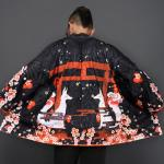 *Pre Order*แฟชั่นชาย,Cardigan กิโมโนญี่ปุ่น,แขนยาว ผ้าฝ้ายพิมพ์ลาย size L,XL,2XL
