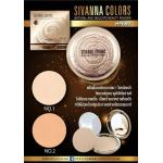 Sivanna Natural and Delicate beauty powder HF689 No.1 ผิวขาว-กลาง