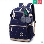 กระเป๋าเป้แฟชั่น ลายน่ารักๆ มีช่องใส่ของด้านหน้า สะดวก เหมาะกับทุกการใช้งานจริงๆ - ลาย 198
