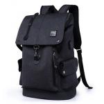 กระเป๋าเป้แฟชั่น ตามติดอินเทรนด์ด้วยช่องเสียบสาย USB ในดีไซน์สวยๆ - ดำ