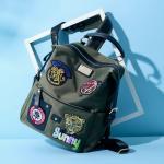 *Pre Order* กระเป๋าแฟชั่นญี่ปุ่น ผ้าOxford ขนาด 33x28x16 cm.