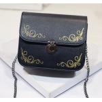 กระเป๋าสะพายข้างทรงนิยม สีสัน มีให้เลือกใช้ได้กับทุกงาน - ดำ