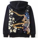 *Pre Order*Jinzhong embroidery jacket hooded ปักลายแฟชั่นญี่ปุ่น size M-2XL