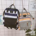 *Pre Order* กระเป๋าเป้ผ้าใบ/เป้แฟชั่นญี่ปุ่น ขนาด 14 นิ้ว/ 38x27x12 cm.