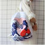 *Pre Order*Campus Bag กระเป๋าเป้นักเรียนญี่ปุ่น ผ้าใบสีหวาน/30x31x11 cm.