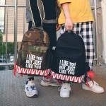 *Pre Order* กระเป๋าเป้แฟชั่น,เป้นักเรียนสไตล์ญี่ปุ่น ขนาด 14 นิ้ว = 40x30x14 cm.
