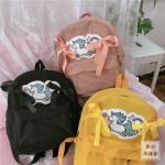 *Pre Order* กระเป๋าเป้ผ้าใบ/เป้แฟชั่นญี่ปุ่น MH-DJS ขนาด 12 นิ้ว/ 38x30x13 cm.