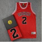 *Pre Order*SD slam dunk No.2 Shohoku Ayako เสื้อกีฬา Basketball size M-2XL
