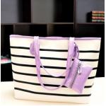 กระเป๋าแฟชั่นเกาหลี หนังนุ่ม สีสวย มีให้เลือกหลากสี ตามไสตล์คุณ - ม่วง