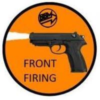 Front Firing 9mm.PAK Blank gun