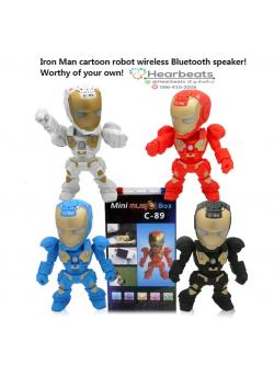 ลำโพง Ironman C-89 ( Bluetooth )