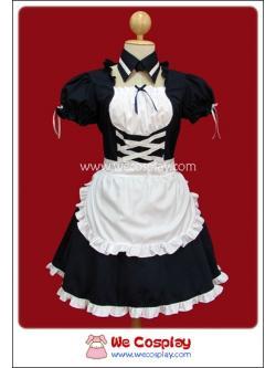ชุดเมดแบล็คโลลิป๊อป Black Lollipop Maid Costume สีดำ