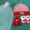 Newborn Gift Set สีแดง