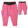 เสื้อผ้าเด็กขายส่งยกแพ็ค กางเกงลายจุด สีชมพู แพ็ค 5 ตัว ไซด์ 92-104-116-128-134
