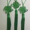 เชือกถักจีน สีเขียว