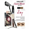 Sivanna Colors Super Model 2in1 Double Extension Mascara HF901 มาสคาร่า