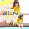 เสื้อคลุมเด็ก สีเหลือง ไซด์ 5,7,9,11,13