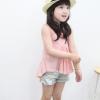 เสื้อผ้าเด็กขายส่งยกแพ็ค เสื้อเด็กผู้หญิงน่ารัก สีชมพู แพ็ค 5 ตัว ไซด์ 5-13