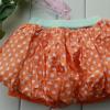 เสื้อผ้าเด็กขายส่งยกแพ็ค กระโปรงกางเกงเก๋ไก๋ สีส้ม แพ็ค 5 ตัว ไซด์ 5-13